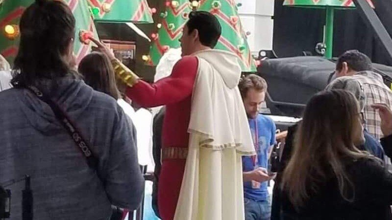 Zachery Levi as Shazam!