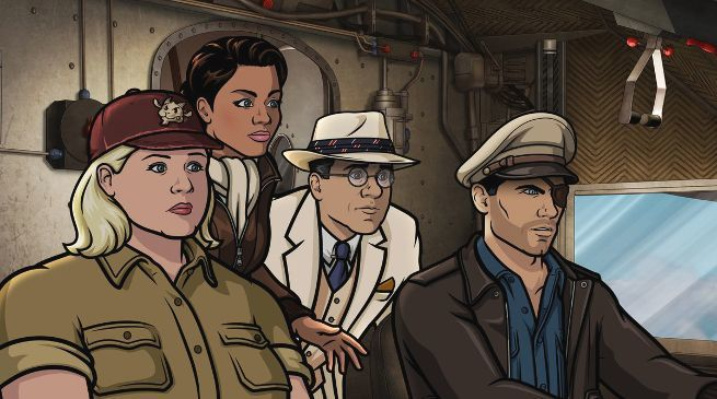 "Archer is back April 25th for ""Danger Island"""