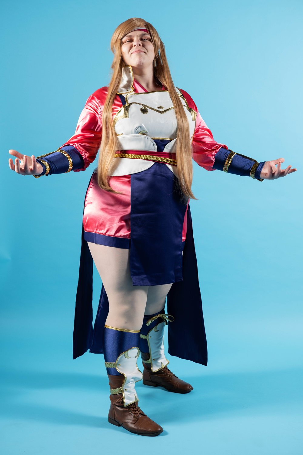 Tacocat Cosplay cosplaying as Hana from Fire Emblem Fates