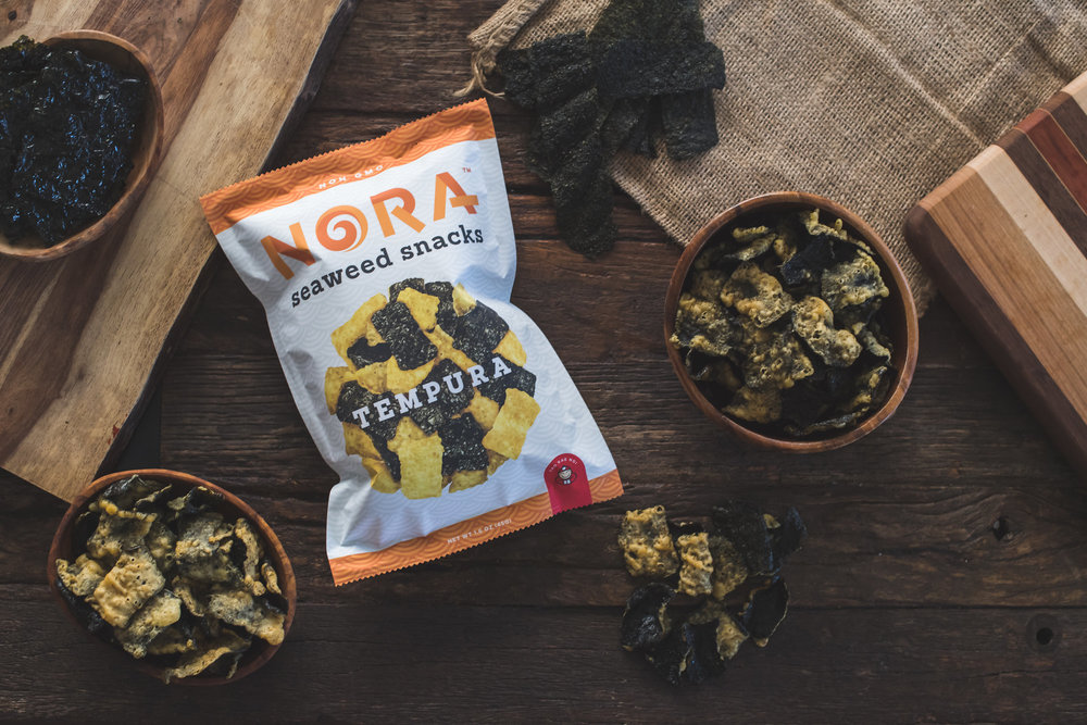 Tempura - Crispy, crunchy, and mouth-watering, Nora Tempura Seaweed will let you relive the incredible food discoveries you found on the shores of Koh Samui.