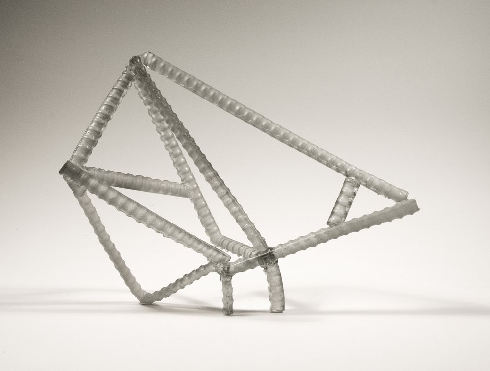 "Untitled , Cast Lead Crystal 11"" x 13"" x 10""  Collection of  Ernsting Stiftung Museum"