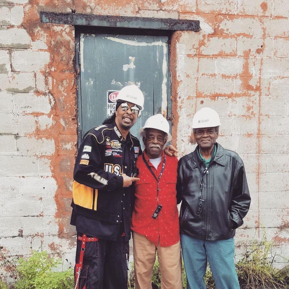 King Records artists Bootsy Collins, Philip Paul and Otis Williams leading the efforts thanks to Mayor Cranley and City of Cincinnati