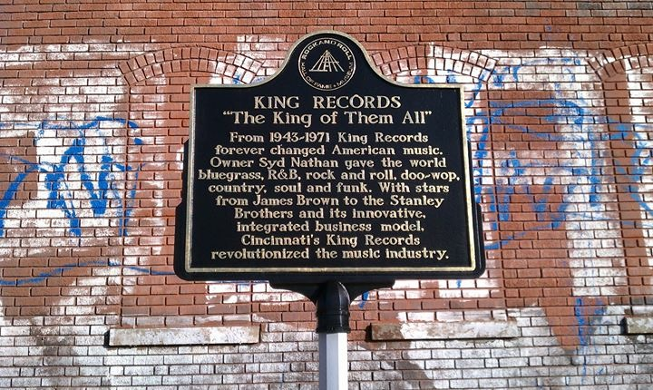King Records Historic Marker