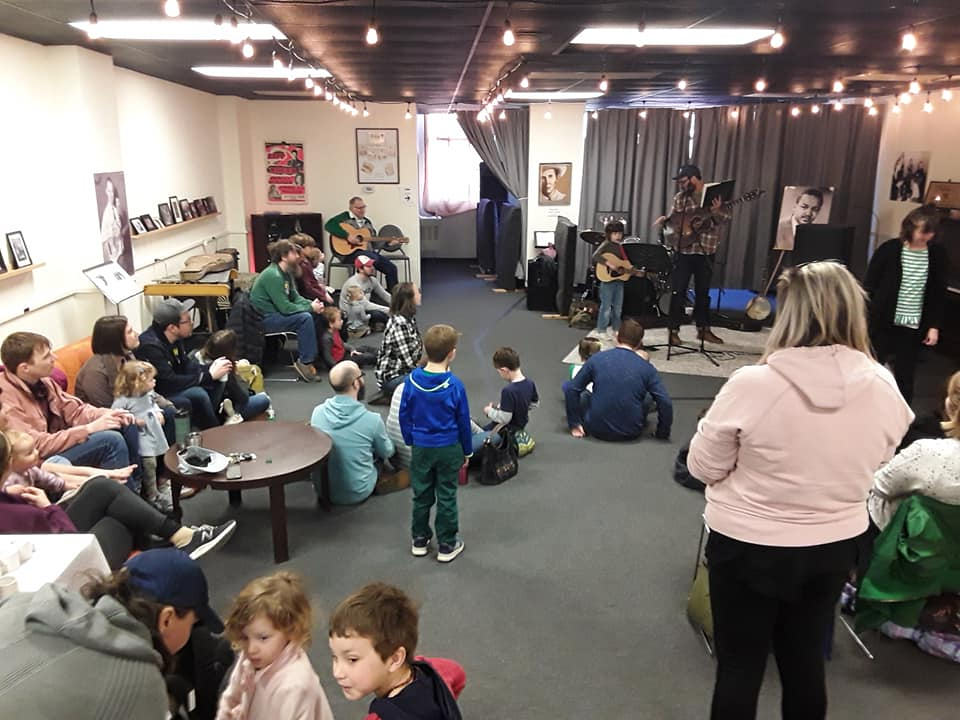 Our monthly Kids Jam is free fun for all ages, presented by Eli's BBQ and The Play Library