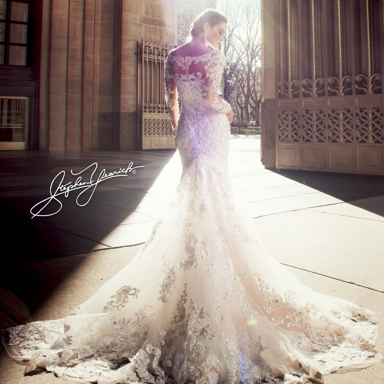 d4f03a9cc2900 Stephen Yearick Couture Trunk Show Spring 2018 — Wine Country Bride ...