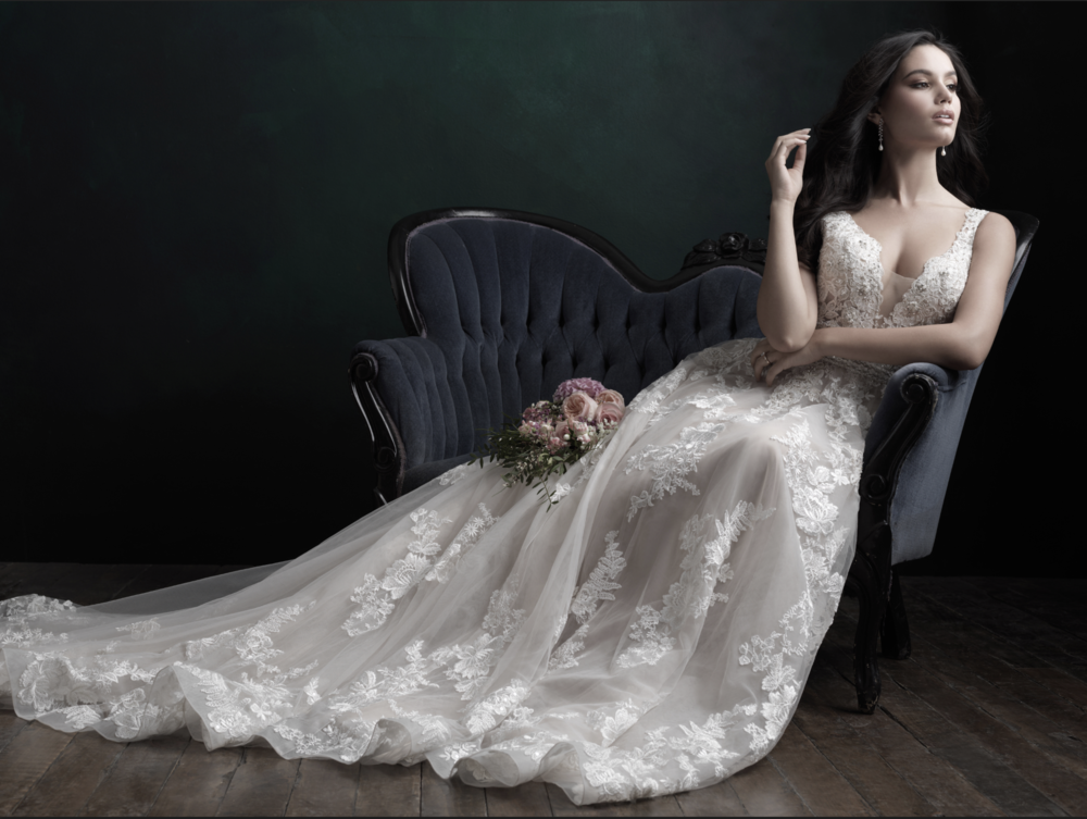 Allure Bridals at Wine Country Bride Boutique Trunk Show | September 2018