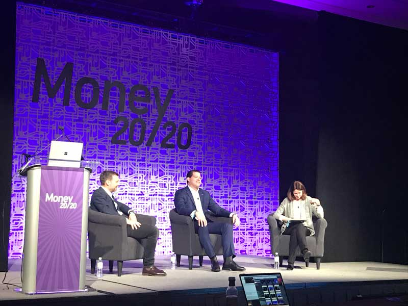 FaceMe took part in a panel discussion at Money 20/20 with Accenture and HSBC bank.