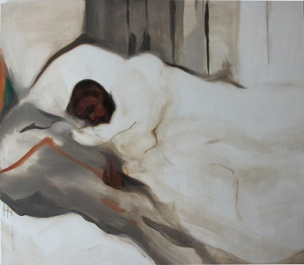 WEB Sikelela Owen, Lindelwe laying, 170X190cm, 2012.jpg