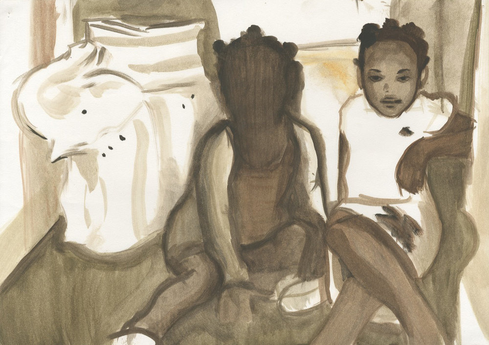 Untitled (white elephant)