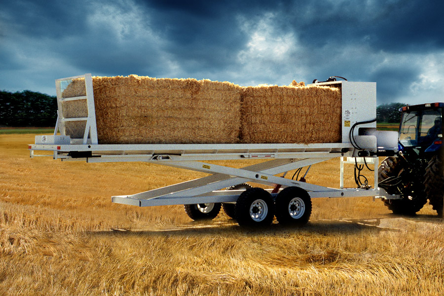 Comes in 2 bale models. Call for custom orders and pricing. +1 208.754.4605
