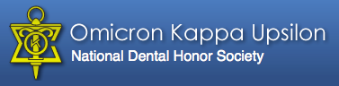Member of the Omicron Kappa Upsilon National Dental Honor Society