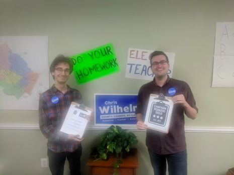 CHRIS WILHELM FOR COUNTY COUNCIL -