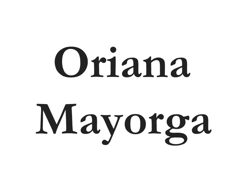 Oriana Mayorga for EC