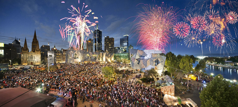 Federation Square - Melbourne Australia
