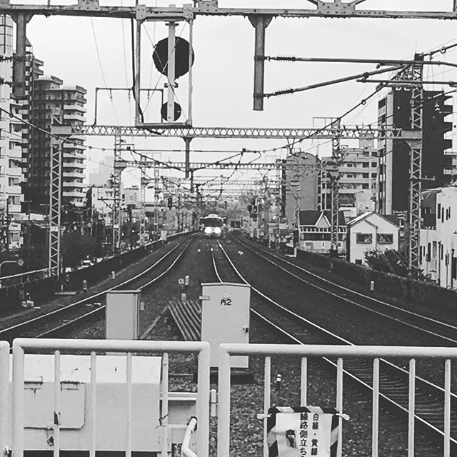 A view from the station .