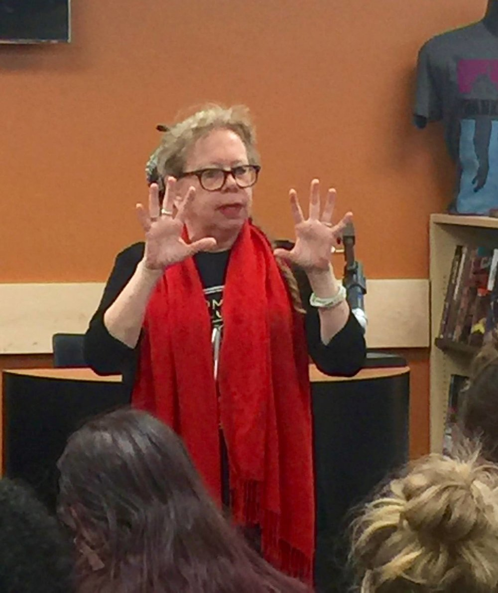 Lynda Barry speaking about how the brain works differently when you use your hands to write and draw