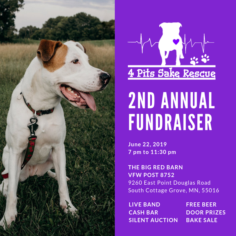 Events — 4 Pits Sake Rescue