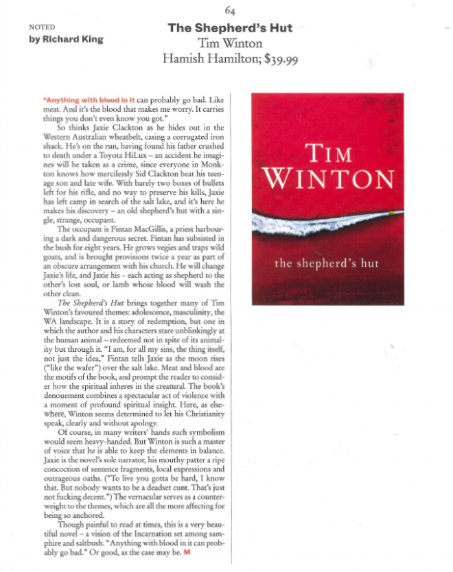 Tim Winton review The Monthly Shepherd's Hut.png