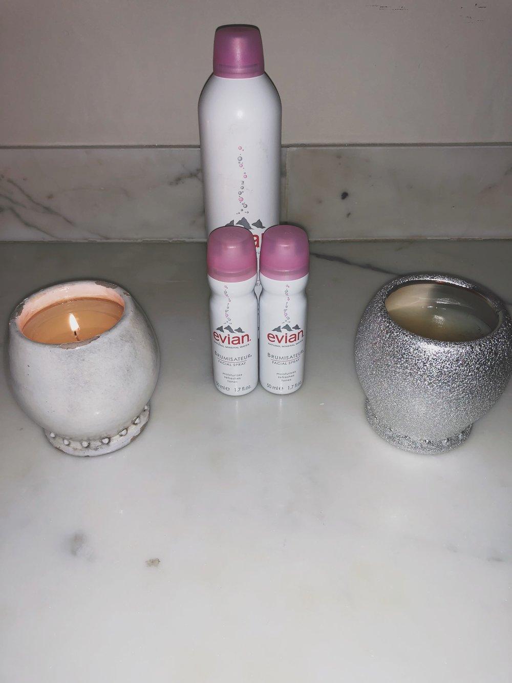 1.  Evian Facial Water Spray