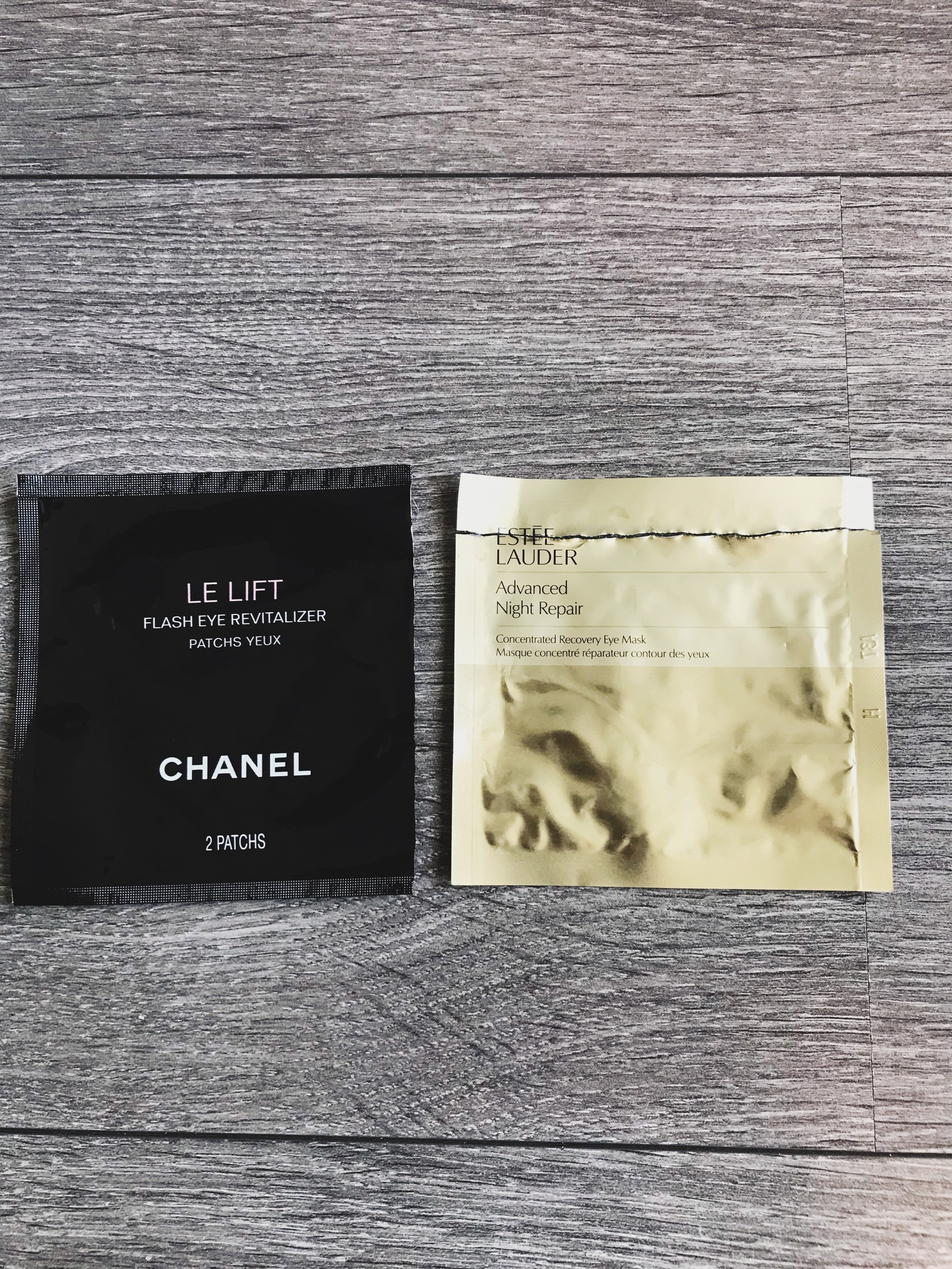 Chanel Vs Estee Lauder Eye Masks Review Downs Style