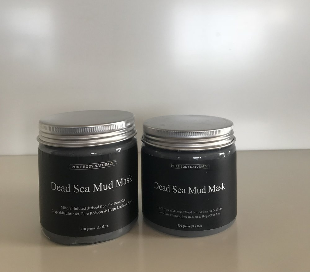 The one to the left has alcohol, right has no alcohol and works wonders  Shop Below:   Dead Sea Mud Mask