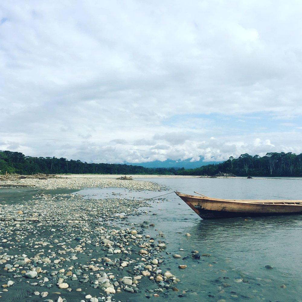 Rio Madre de Dios, Manu