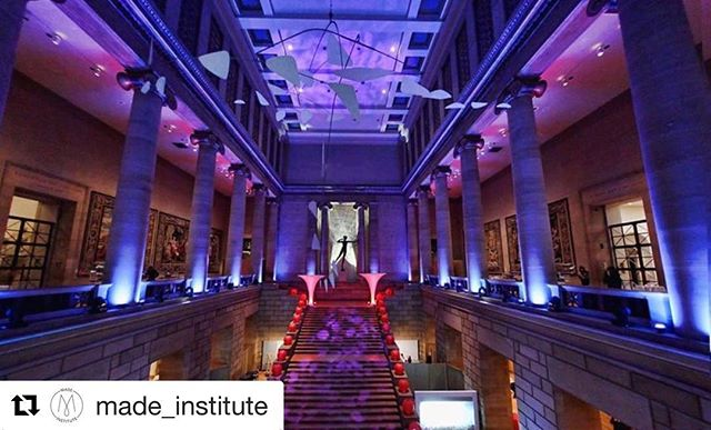 So excited for tonight's event with @pmayoungfriends!! #Repost @made_institute with @get_repost ・・・ Tonight's going to be crazy fun!! So excited to partner with @pmayoungfriends and @philamuseum for their Fall into Art Gala celebrating their latest Fabulous Fashion exhibit. Made will be showcasing modeled student designs and live Fashion Illustration w/ @veronicajamisonart  Hope to see you there! . . #pmayoungfriends #philadelphiamuseumofart #madeinstitute #gala #djroyal #fashionschool #fashionshow
