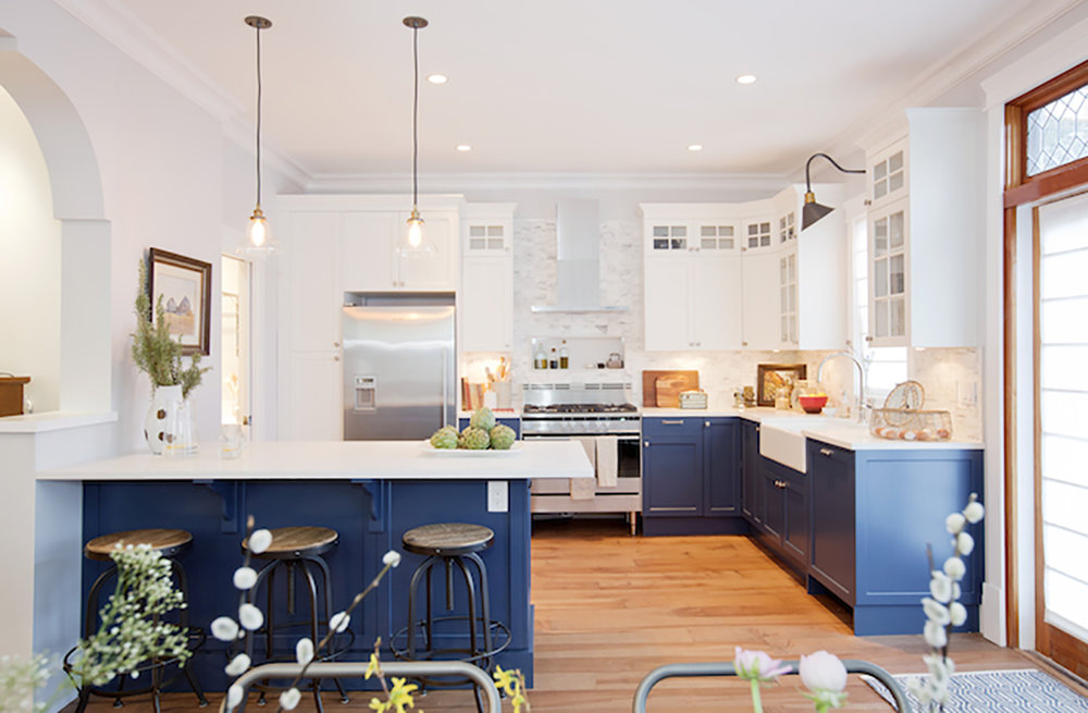 10 Inspiring Non White Kitchens Farmhouse Living