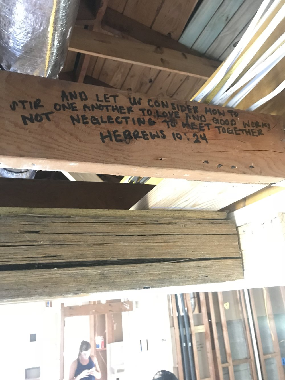 Bible Verses to Bless Your Home during Renovation or New Build - Framing - Bible Verses for Home 7.JPG