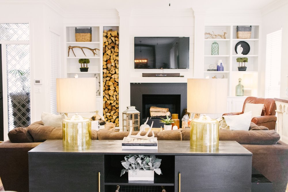 Dallas Artist Rustic Meets Modern Home Tour