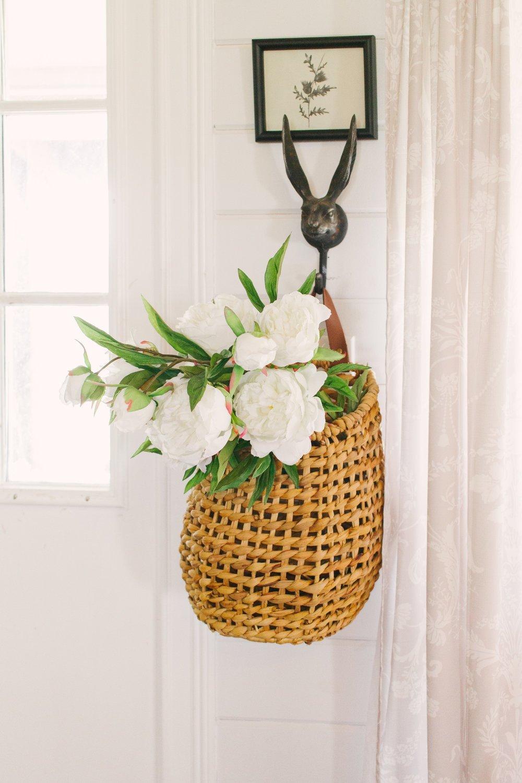 My Little White Barn Home Tour - Spring Decor Inspiration