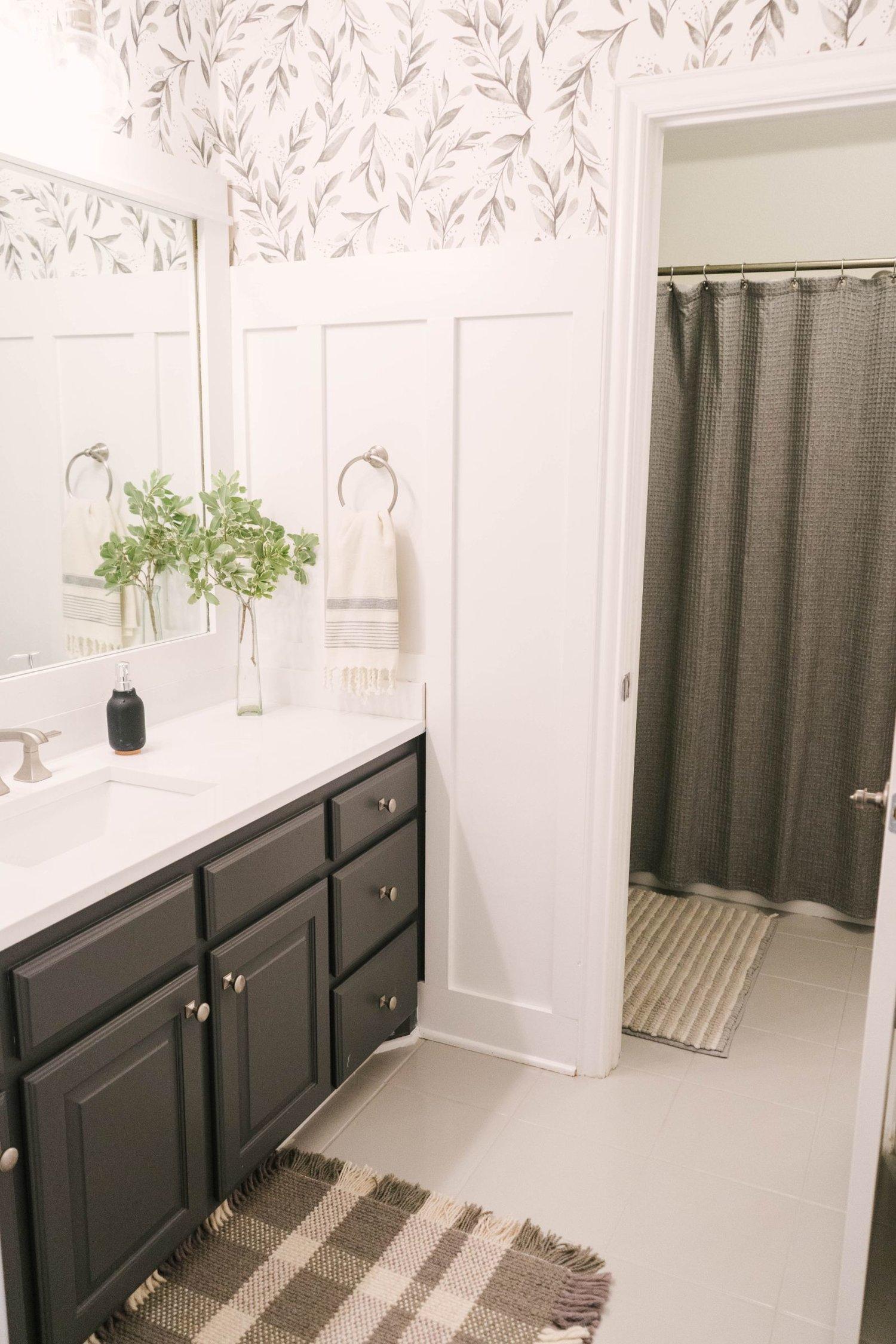 Diy How To Paint Ceramic Floor Tile Farmhouse Living
