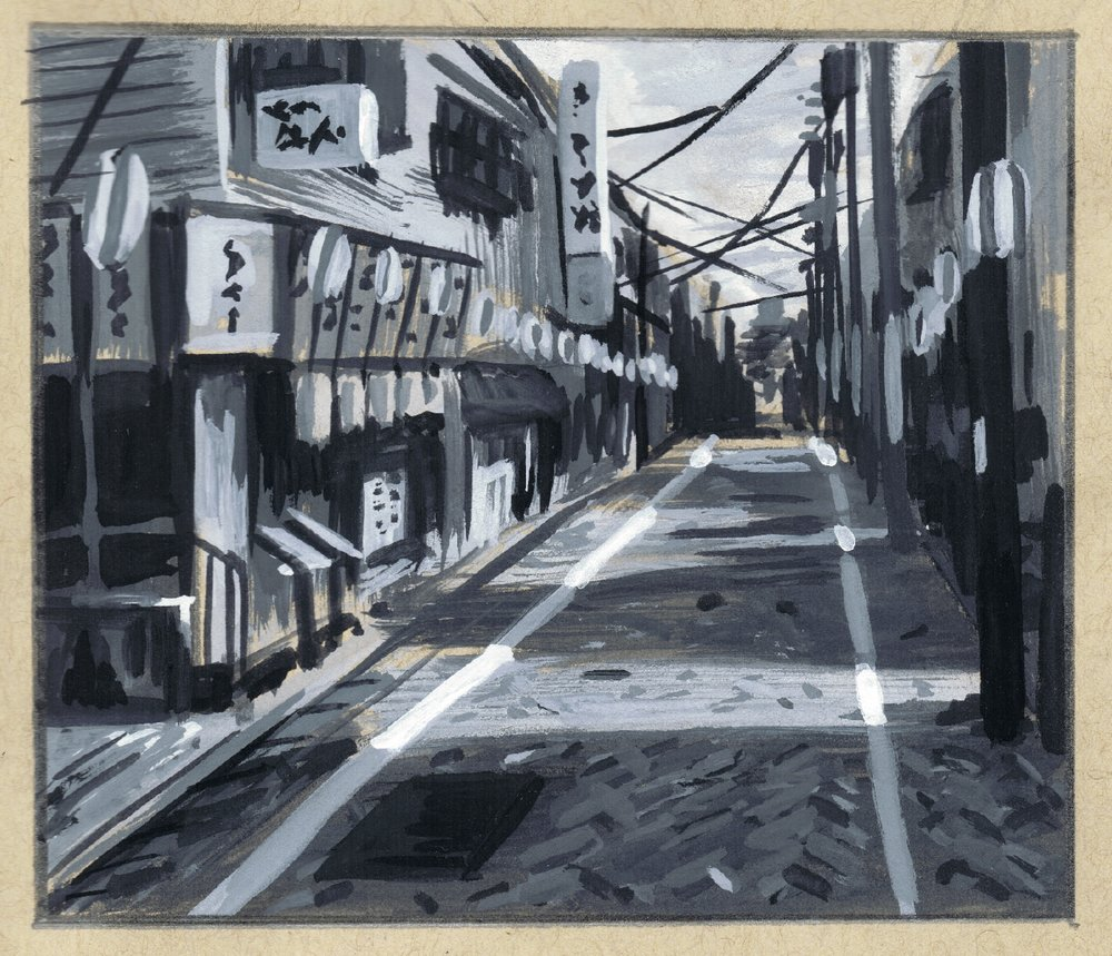 Lane in Kagurazaka