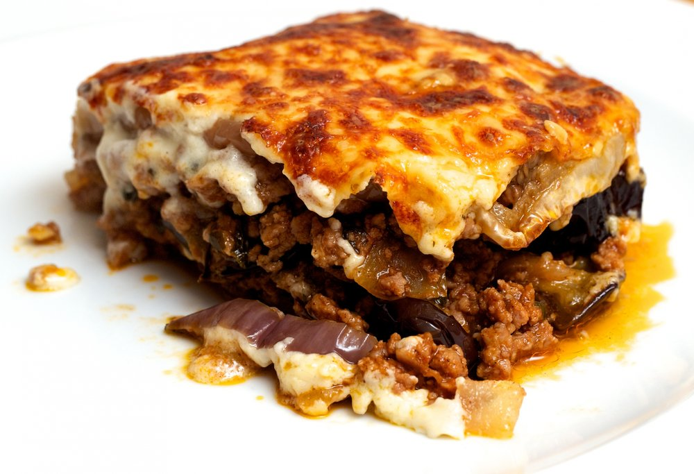 CLASSIC GREEK DISHES - All entrees come with cup of soup or side Greek salad