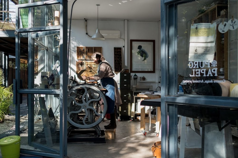 This letterpress shop may just be what you've been searching for... -