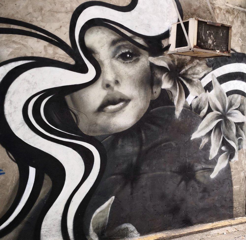 Street mural - Location: Tsuen Wan, HK