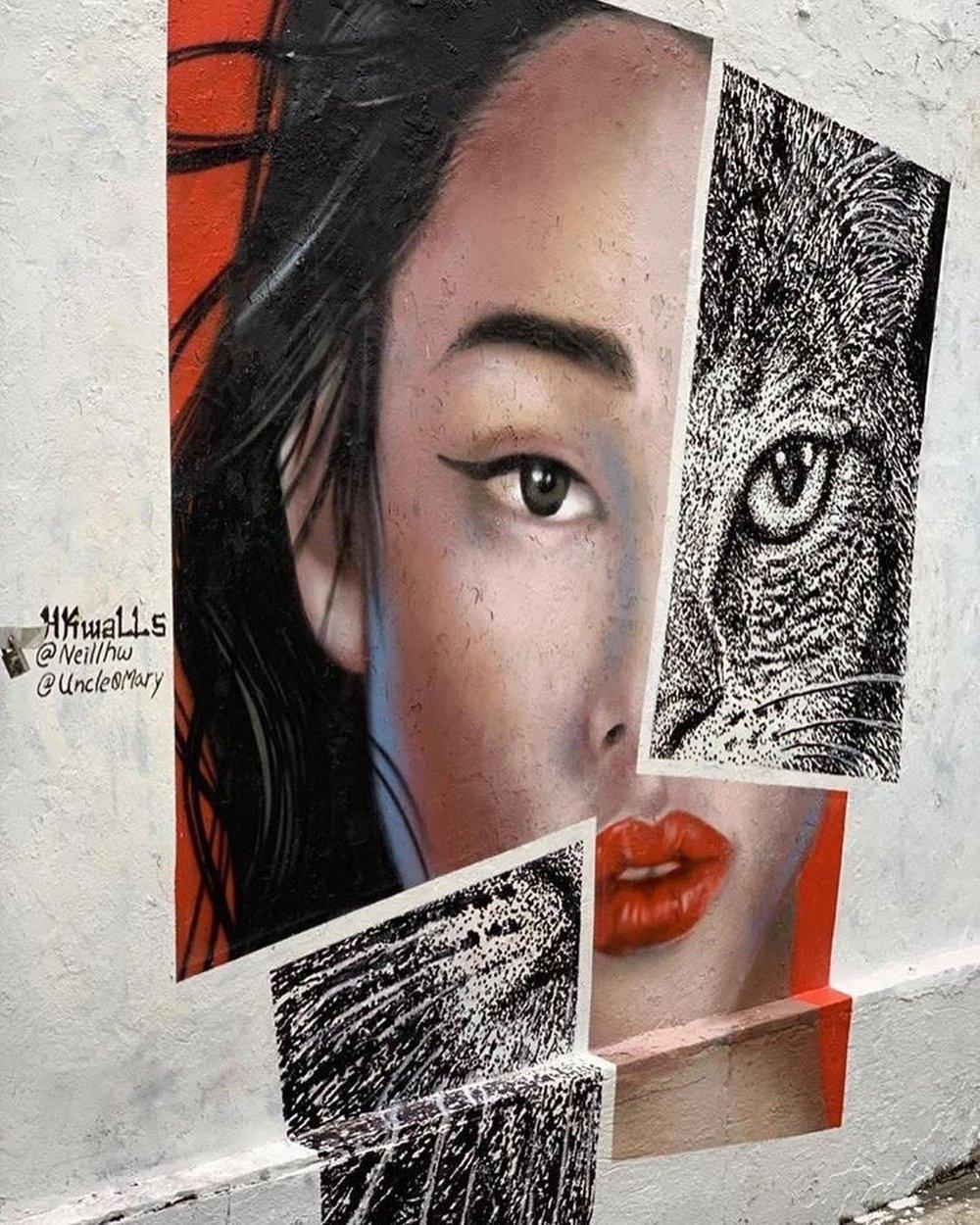 Mural - HKWALLS 2019