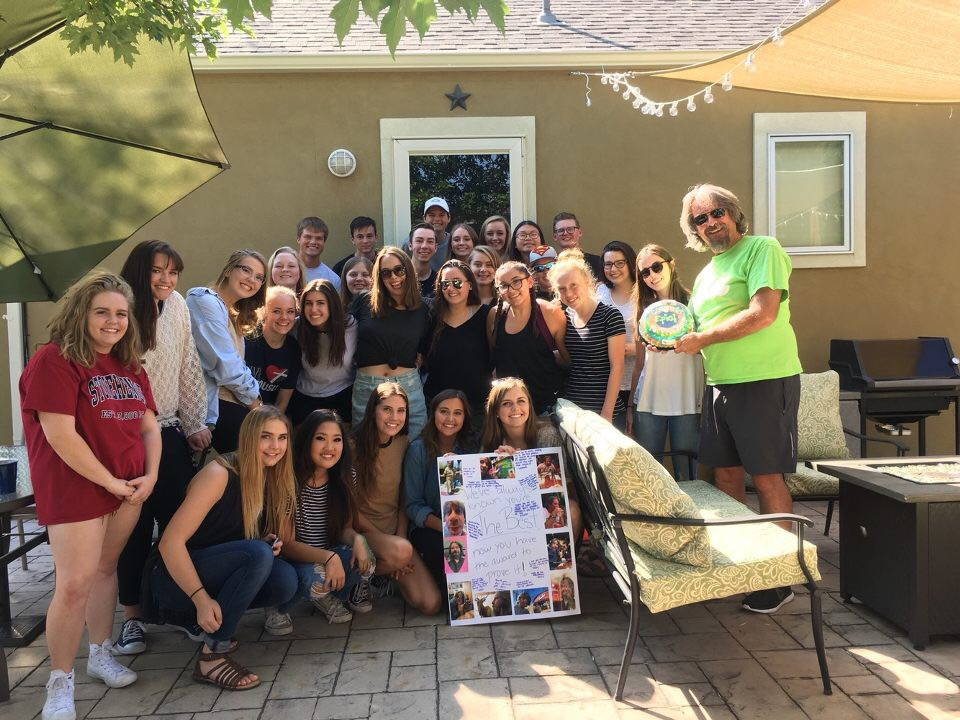 This is our first MVM tradition of the year, a scavenger hunt and cook out at Newt's house. It is a fun way to get the staff together, creating friendships early in the year.