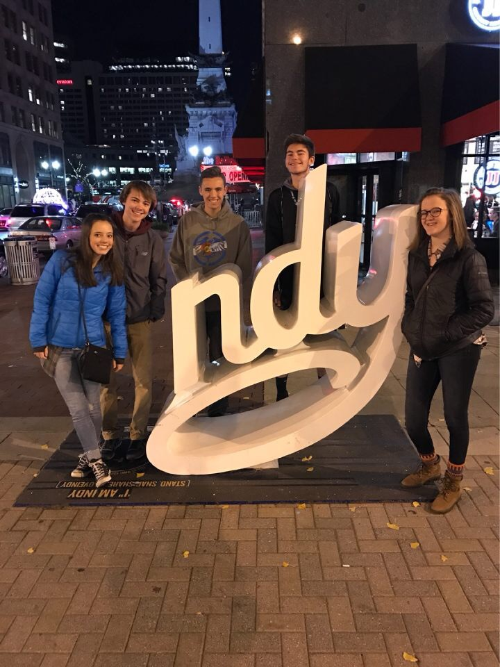 Although attending our county and state conventions are insightful, cheaper and easier to go to, going to the national conventions has been the highlight of my time in the media program. My first national journalism convention was in the fall of 2016 in Indianapolis. It was a unique way to bond with my classmates and learn from professionals.