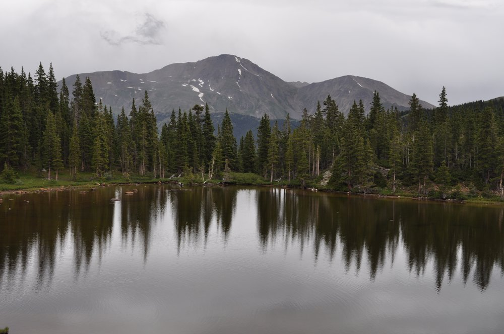 This is another picture from Ptarmigan Lake.
