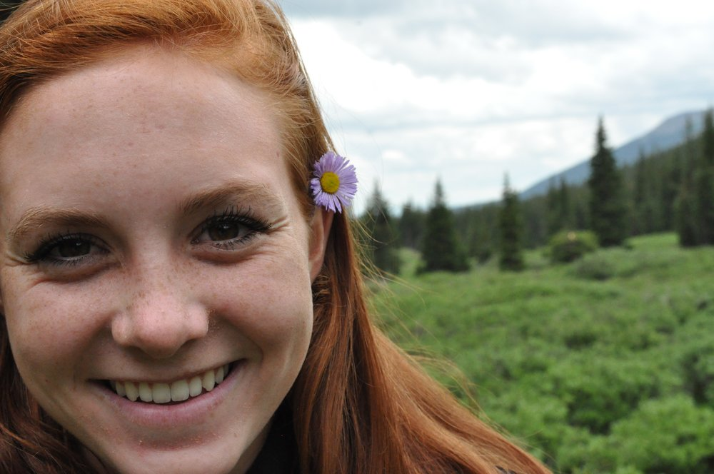 My good friend Taylor in a secluded campsite outside of Breckenridge, Colo.