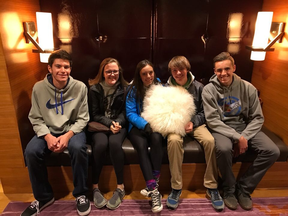 My friends and I in Newt's penthouse suite at the JW Marriott in Indianapolis. It was a fun trip and one of the most eye-opening learning experiences for me.