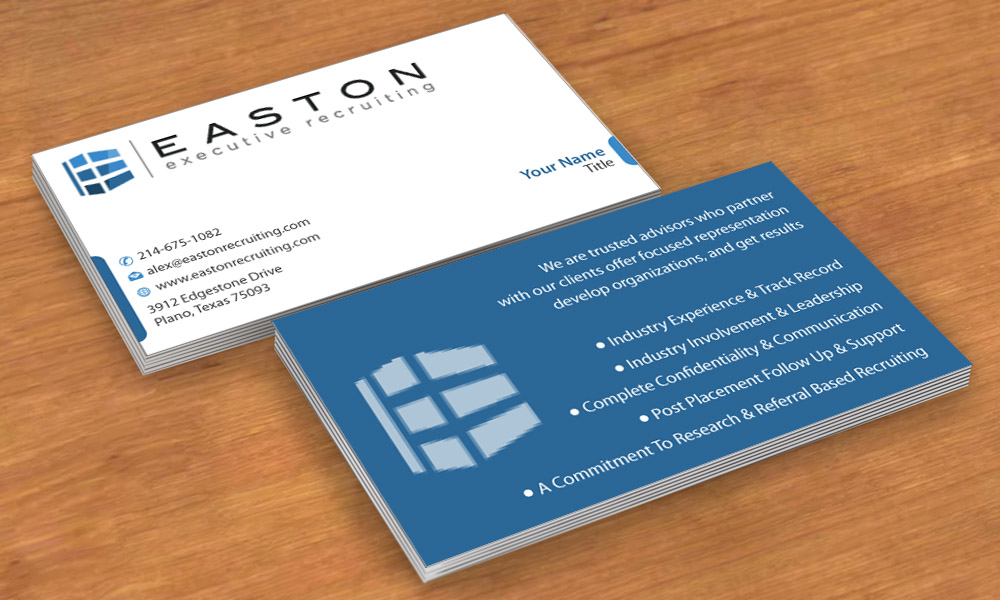 Business Cards (Gloss or Matte) 16pt — Designit4free.com