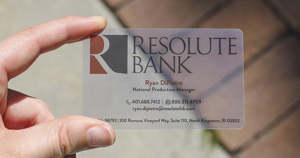 Discount Plastic Cards 20pt — Designit4free.com