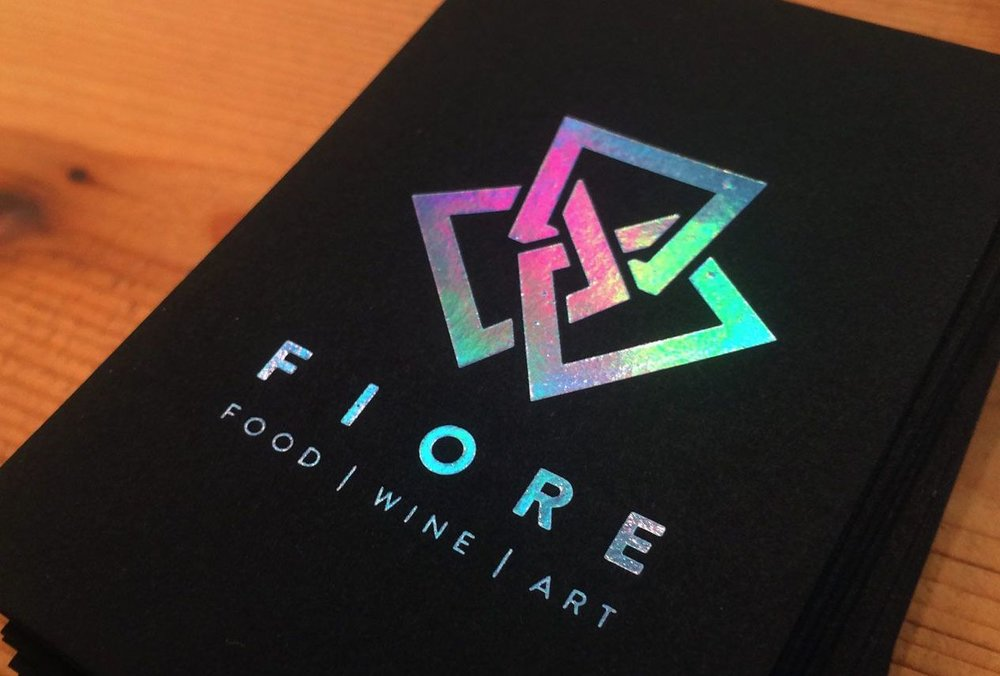 Colored Foil Business Cards — Designit4free.com