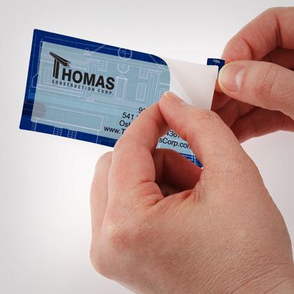 business card stickers - Business Card Stickers
