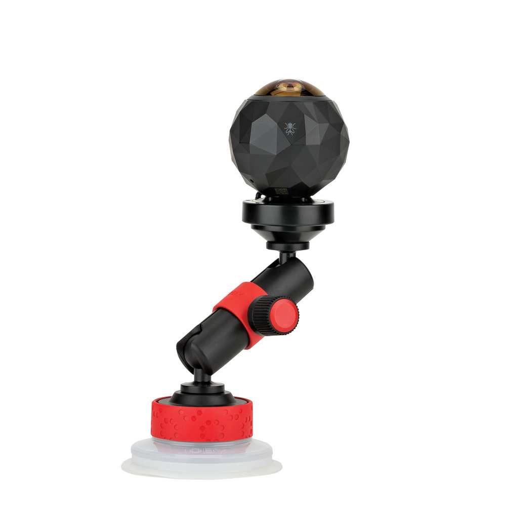 Suction Cup & Locking Arm -