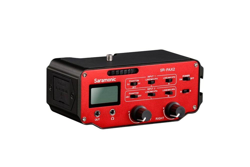 Saramonic Pre-Amp& Audio Adapterfor DSLR -