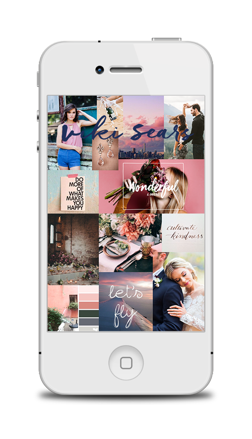 BRANDING - I worked with Viki to determine a new look and feel for her brand that complimented her style of photography. She wanted something bold, adventurous, colorful, and romantic.