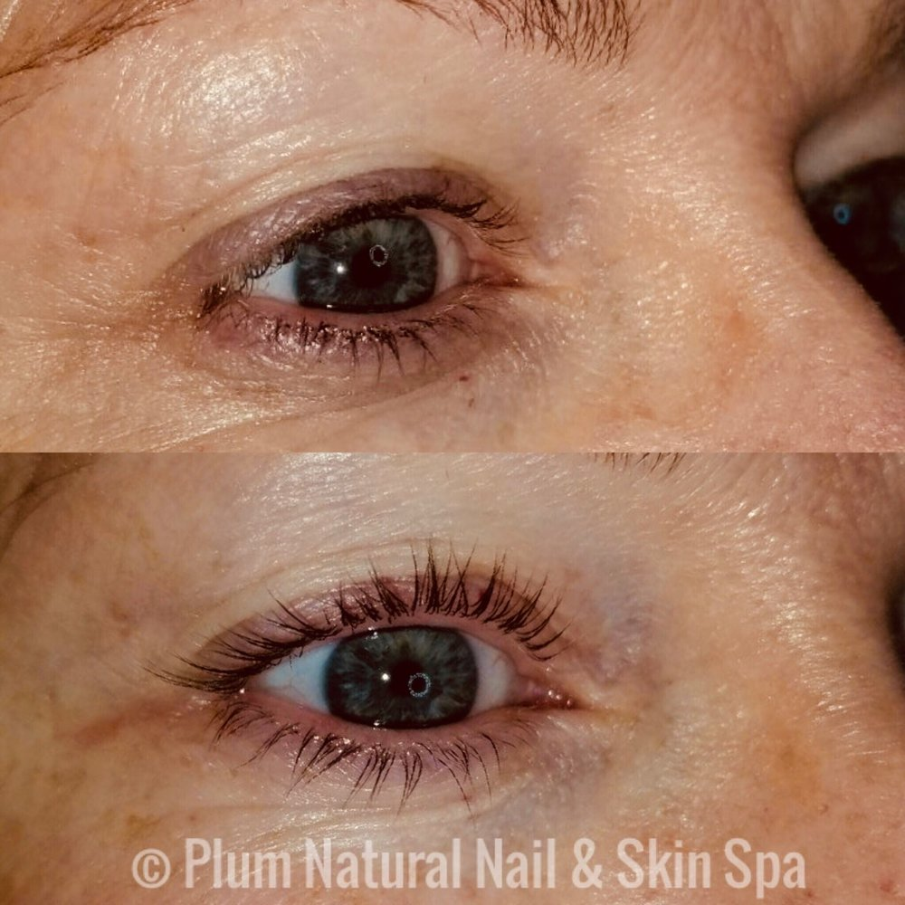 Lash Lift Austin Tx Eyelash Perming Plum Austin Nail Salon And